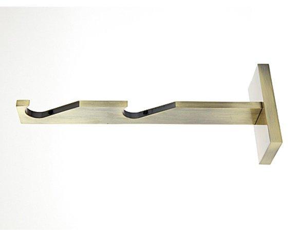 Wspornik 19mm podwójny - slim prosty